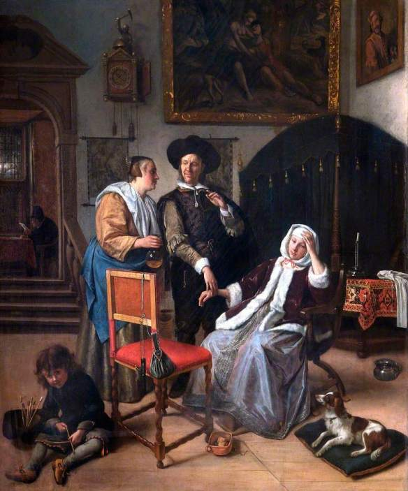 Steen, Jan, 1625/1626-1679; The Physician's Visit